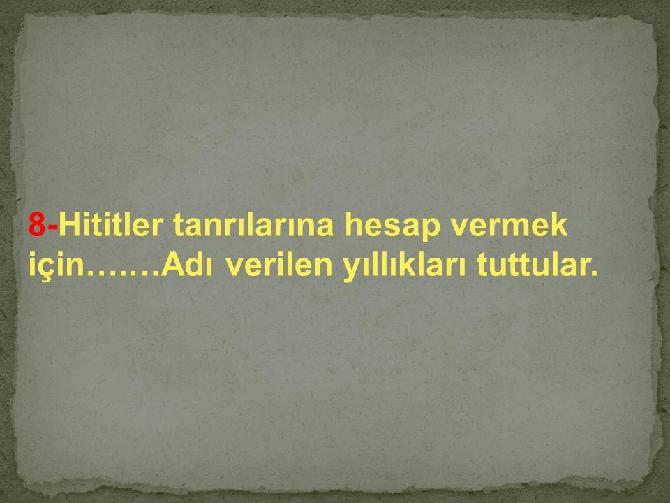 CEVAP HİTİTLER