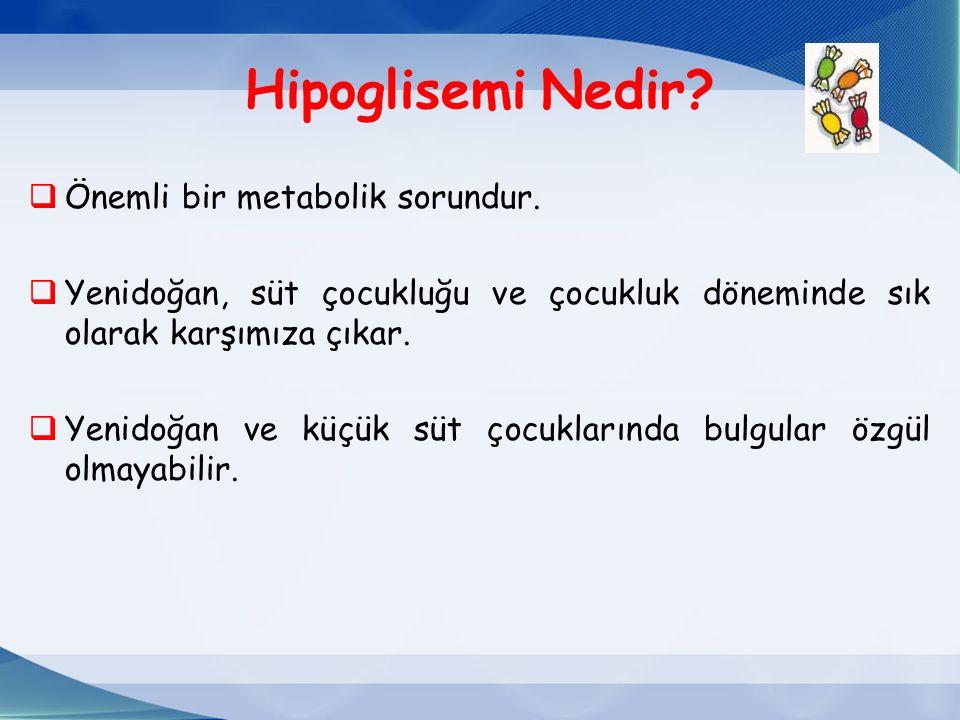 Hipoglisemi Nedir. Önemli bir metabolik sorundur.