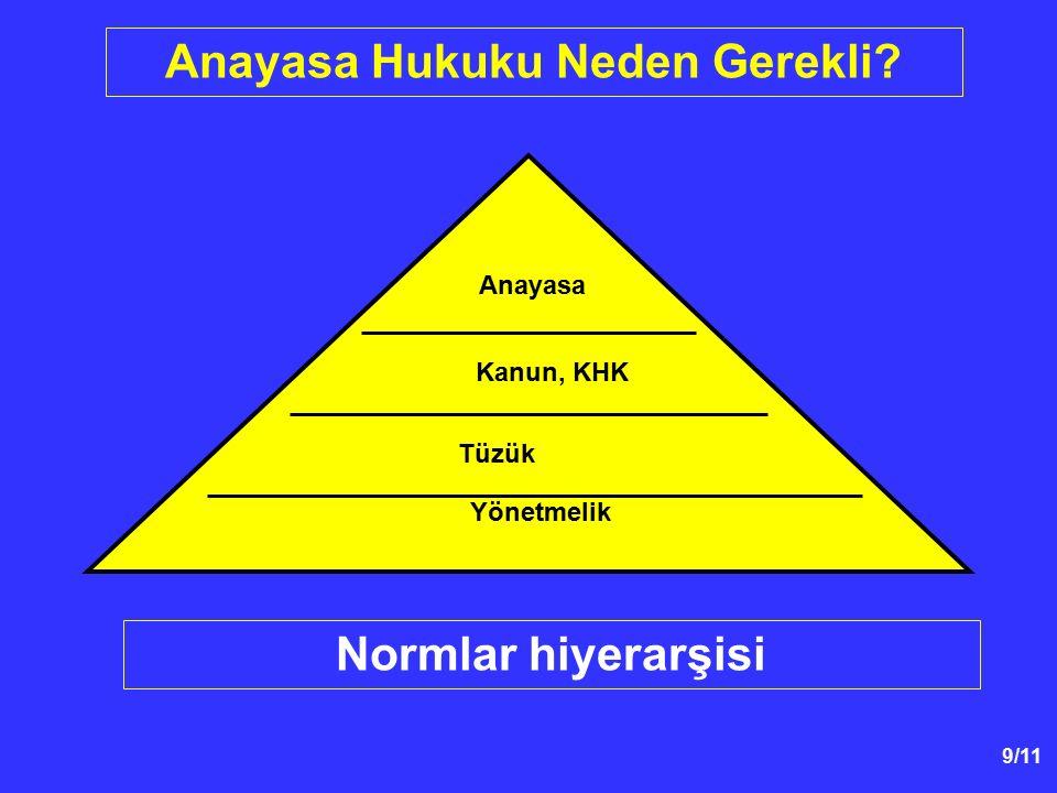 90/59 Başlangıçta Belirtilen Temel İlkeler - Hürriyetçi demokrasi (p.3) - Kuvvetler ayrılığı (p.4) - Türk varlığının devleti ve ülkesiyle bölünmezliği (p.5) - Kuvvetler ayrılığı (p.4) - Lâiklik (p.5) - Her Türk vatandaşının onurlu bir hayat sürdürme ve maddî ve manevî varlığını geliştirme hakkı (p.6) - Türk vatandaşlarının; * Millî varlığa karşı hak ve ödevlerde, * Nimet ve külfetlerde ve * Millet hayatının her türlü tecellisinde ortak olduğu (p.7)