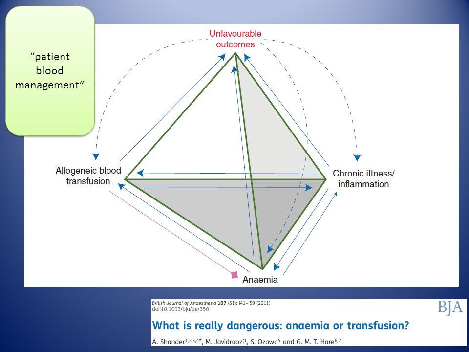 Hastaların %40'ı kılavuza rağmen transfüze...