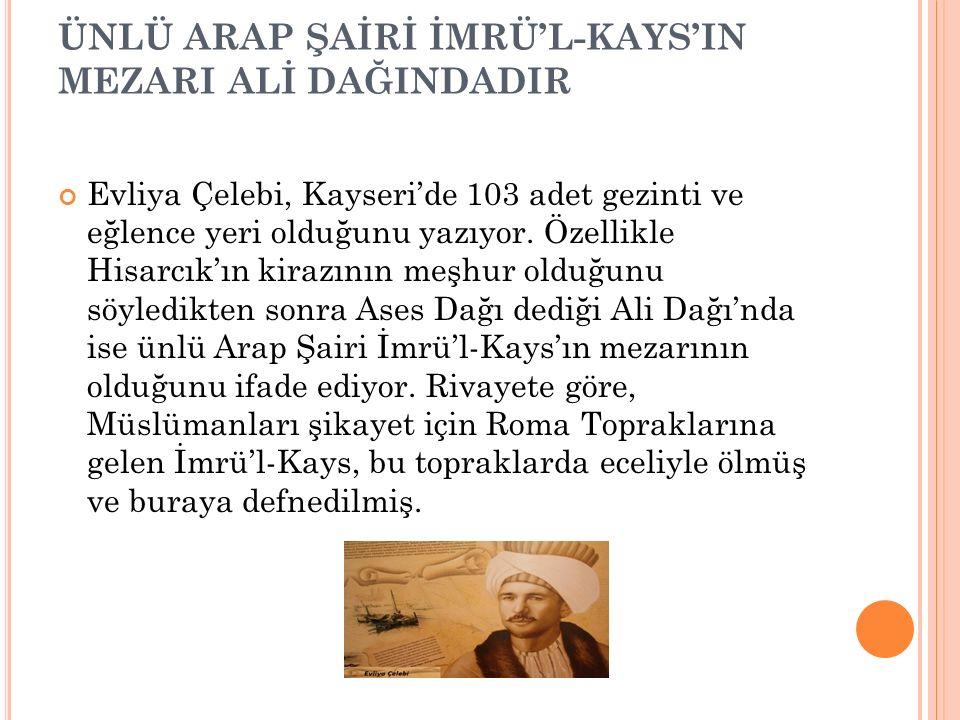 """KAYSERİ'DE O TARİHTE HAFTADA İKİ DEFA SEMA AYİNİ YAPILIRMIŞ Evliya Çelebi, Kayseri'de Mevlana hazretlerinin adını taşıyan """"Celaleddin Rumi Asitanesi"""""""