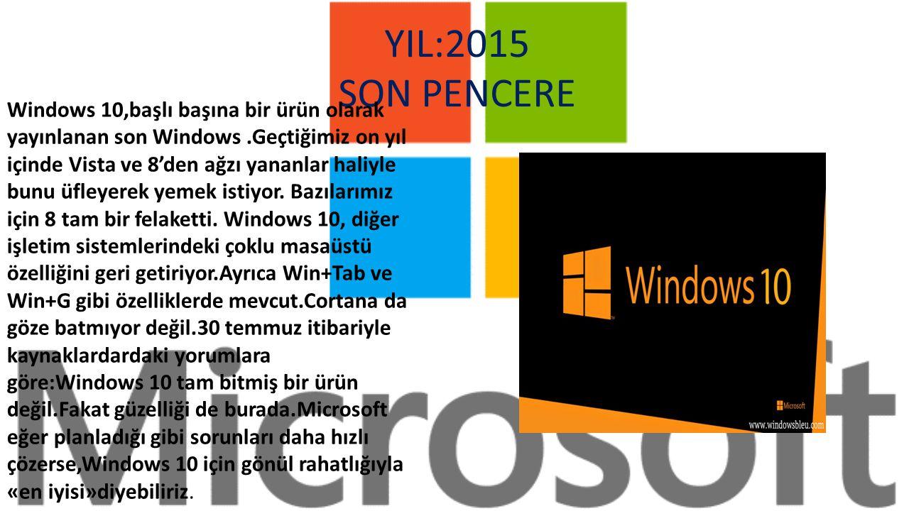 Windows 8.1, Windows 8 işletim sisteminin harika cihazlarda güçlü bir uygulama koleksiyonu ile bulut erişimi sunma vizyonunu daha da ileri taşıyarak; Windows 8 işletim sisteminde insanların sevdiği her şeyin üzerine bazı geliştirmeler ekliyor.