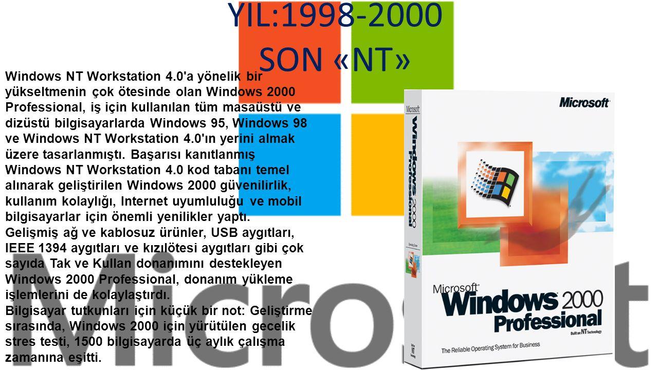 25 Haziran 1998 de yayımlanan Windows 98, tüketiciler için özel olarak tasarlanan ilk Windows sürümüydü.