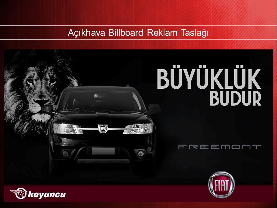 Açıkhava Billboard Reklam Taslağı