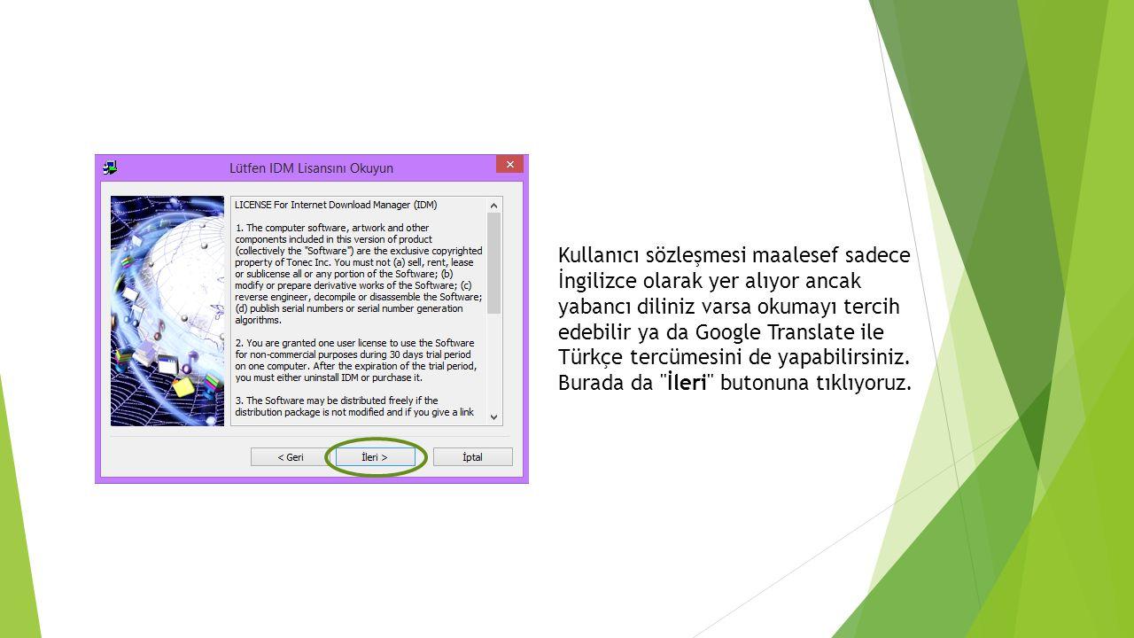 Kullanıcı sözleşmesi maalesef sadece İngilizce olarak yer alıyor ancak yabancı diliniz varsa okumayı tercih edebilir ya da Google Translate ile Türkçe