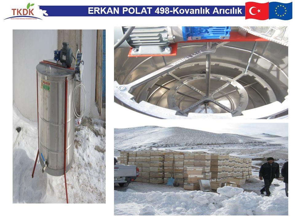 ERKAN POLAT 498-Kovanlık Arıcılık 54
