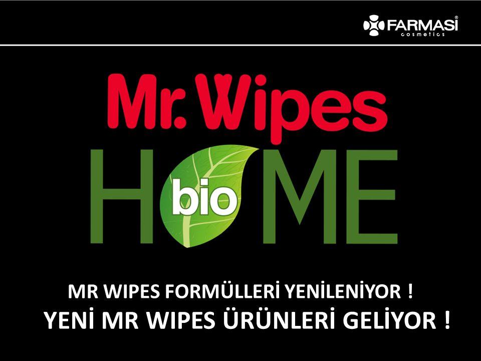 MR WIPES FORMÜLLERİ YENİLENİYOR ! YENİ MR WIPES ÜRÜNLERİ GELİYOR !