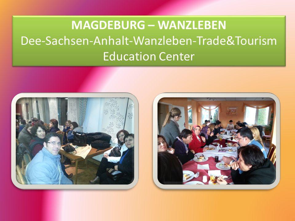 MAGDEBURG – WANZLEBEN Dee-Sachsen-Anhalt-Wanzleben-Trade&Tourism Education Center MAGDEBURG – WANZLEBEN Dee-Sachsen-Anhalt-Wanzleben-Trade&Tourism Education Center