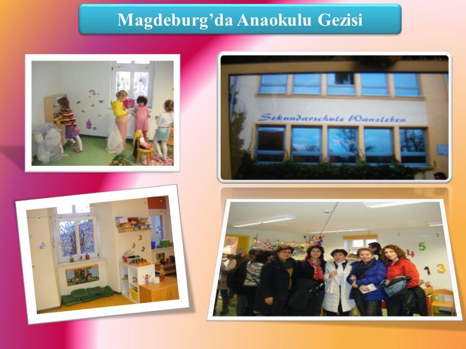 Magdeburg'da Anaokulu Gezisi