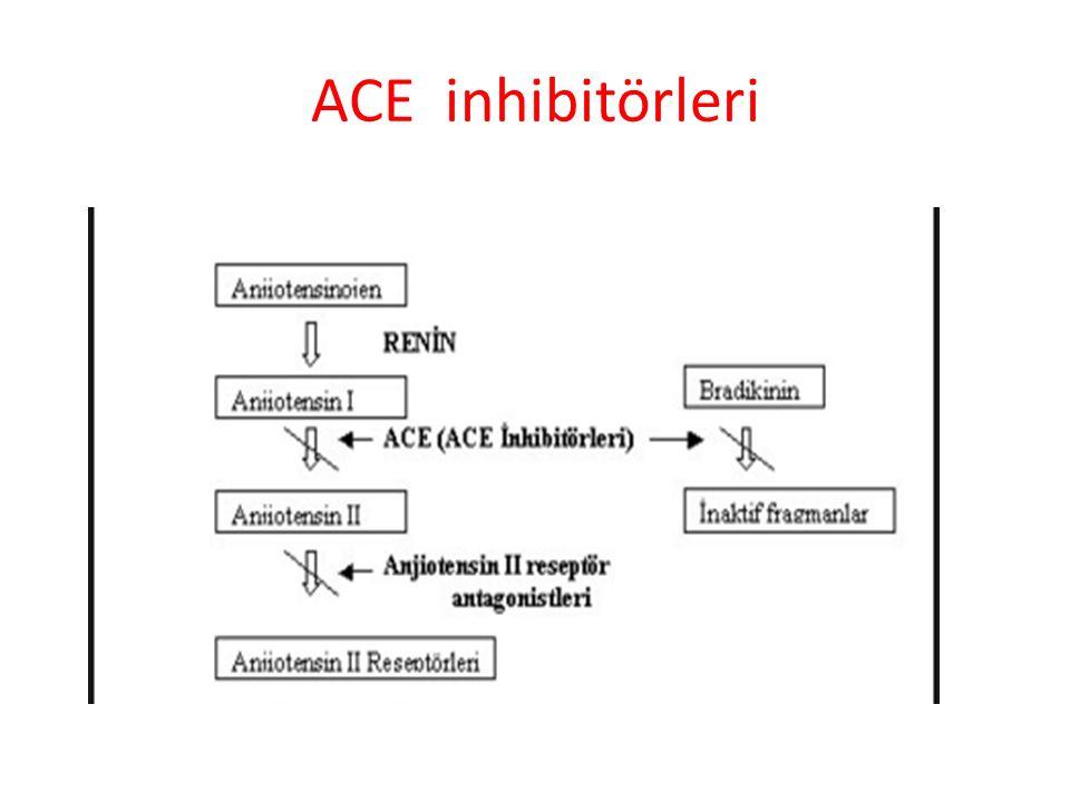 ACE inhibitörleri