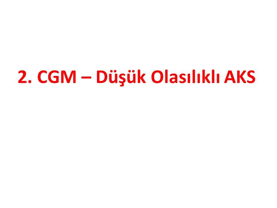 2. CGM – Düşük Olasılıklı AKS