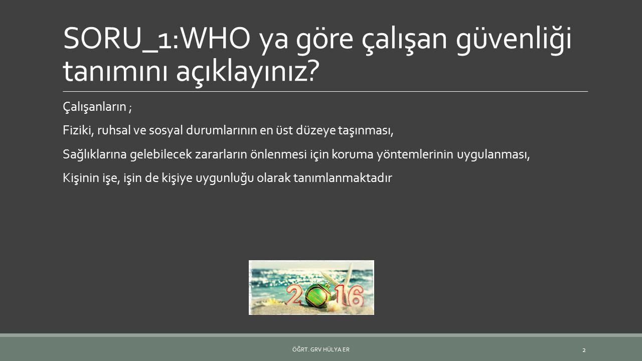 Türkiye de iş sağlığı ve güvenliği ile ilgili yayınlanmış kanun resmi gazetenin hangi kanun numarası ile anılır.