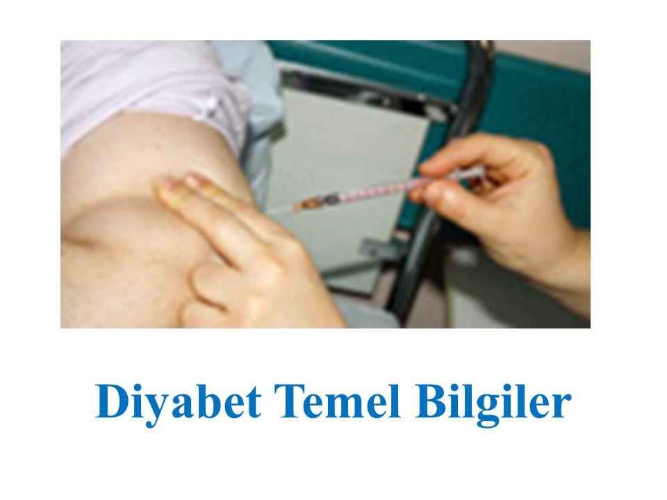 Diyabet Temel Bilgiler