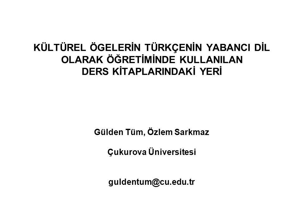 Türkçenin yabancı dil olarak öğretilmesinde ders araç ve gereçleri çok önemli yer tutmaktadır.