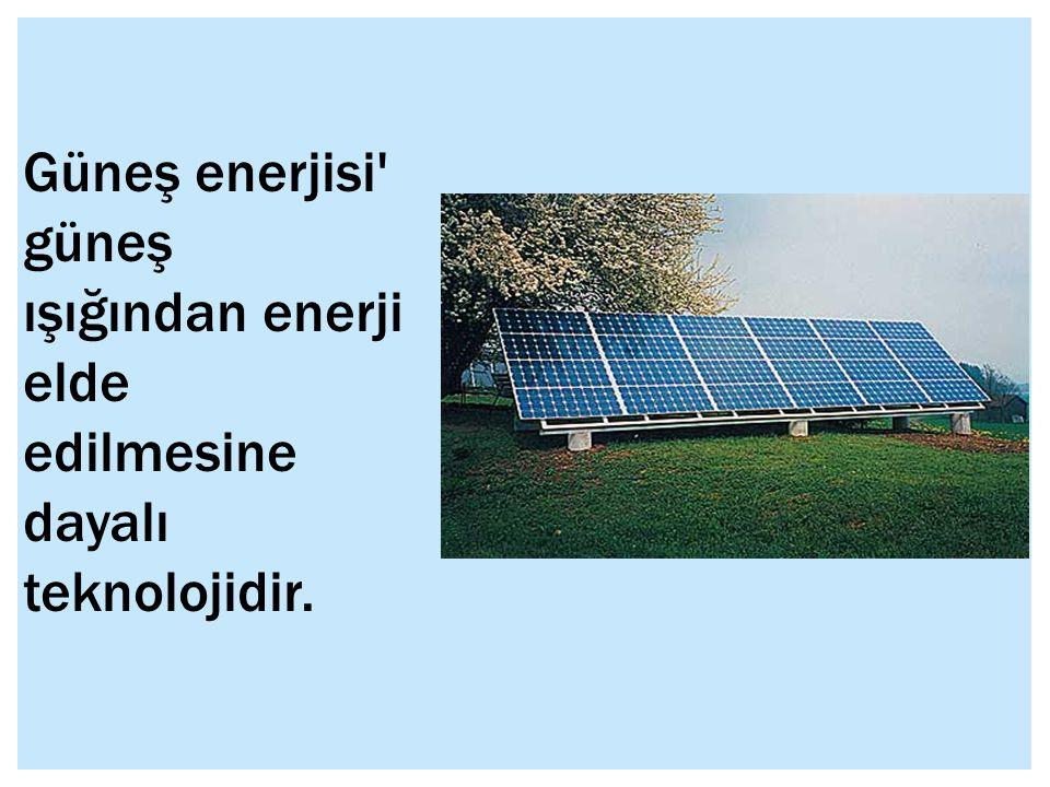 Enerji kaynakları, herhangi bir yolla enerji üretilmesini sağlayan kaynaklar.