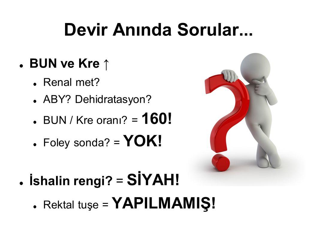 Vizit Sonrası Rektal Tuşe MELENA!