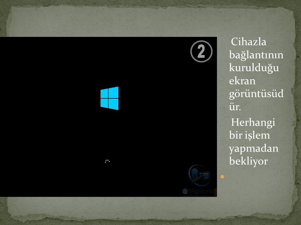Bu ekran görüntüsünde gördüğünüz gibi diskimiz 3 parçaya bölündü.