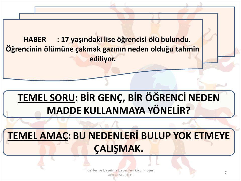 Antalya İlinde hakkında uyuşturucu kullanmak ve bulundurmaktan işlem yapılan 1658 kişinin 781'inin aynı zamanda diğer suçlardan da kaydı olduğu tespit edilmiştir.