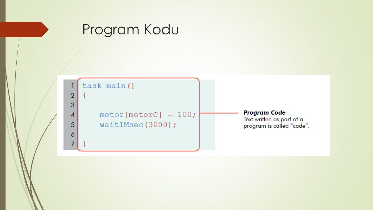 Program Kodu