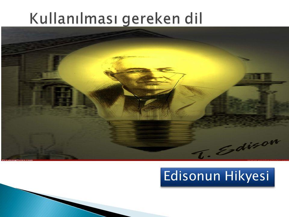 Edisonun Hikyesi