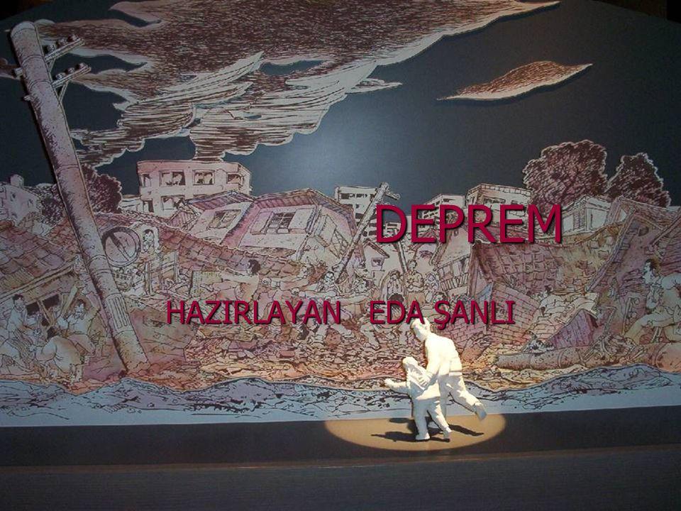 TÜRKİYE TARİHİNDEKİ DEPREMLER Courtesy National Information Service for Earthquake Engineering, University of California, Berkeley 1509 1878 Istanbul