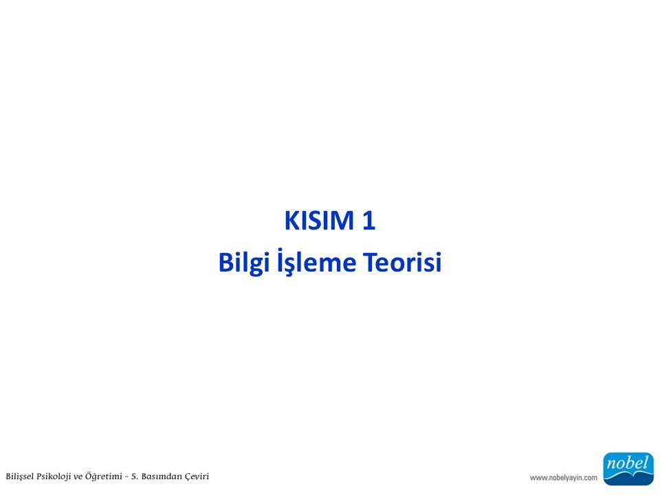 KISIM 1 Bilgi İşleme Teorisi