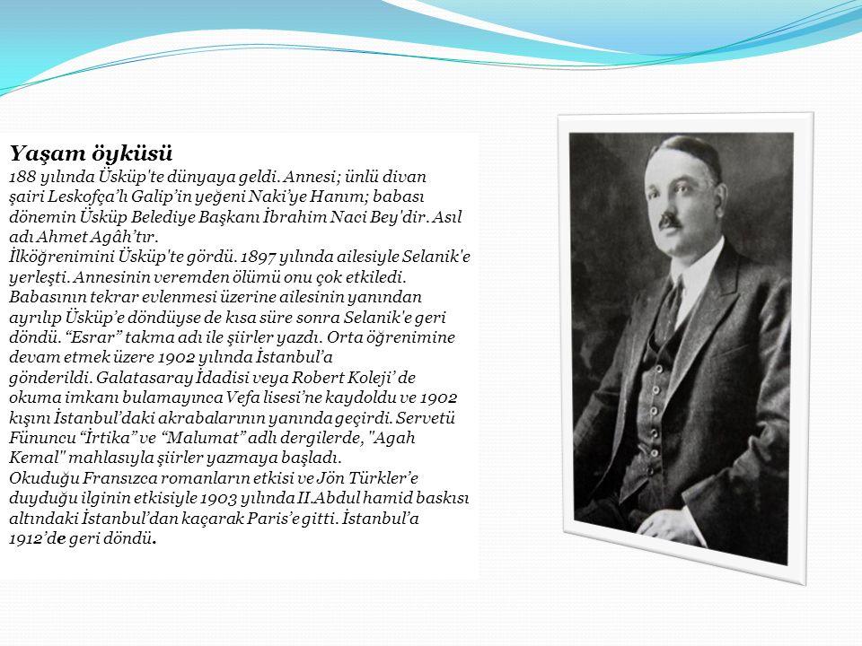 Yaşam öyküsü 188 yılında Üsküp'te dünyaya geldi. Annesi; ünlü divan şairi Leskofça'lı Galip'in yeğeni Naki'ye Hanım; babası dönemin Üsküp Belediye Baş
