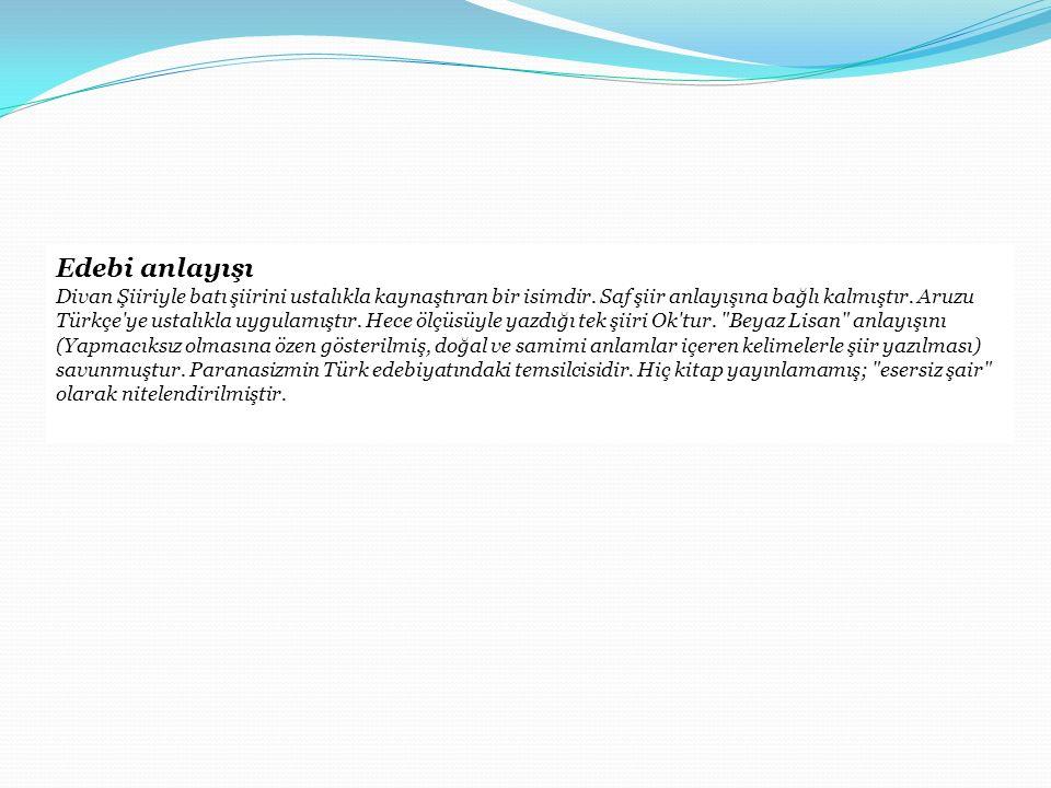 Ölümünden sonra Yahya Kemal in sağlığında hiçbir kitabı yayımlanmamıştır, onun vefâtından sonra açılan Yahya Kemal Enstitüsü; şairin, edebiyat tarihçisi Nihat Sami Banarlı tarafından derlenen eserlerini yayınlamıştır.