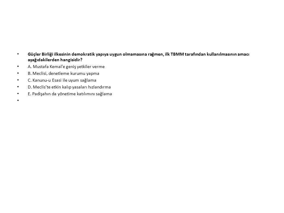 Erzurum Kongresi ve Misak-ı Milli nin ortak özelliği aşağıdakilerden hangisinde doğru verilmiştir.