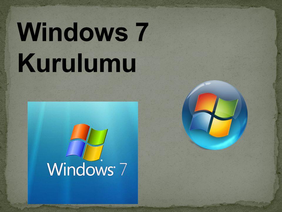 Özelliklerden sonra Güncelleştirm eler yükleniyor adımı da tamamlandıkta n sonra bilgisayar yeniden başlatılacaktır.