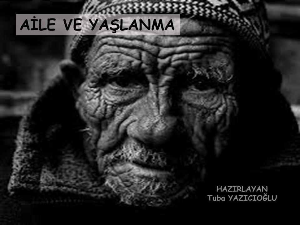 6.Çatışma Teorisi ve Yaşlanma Uyumsuzluk ve çatışmaya vurgu yapar.