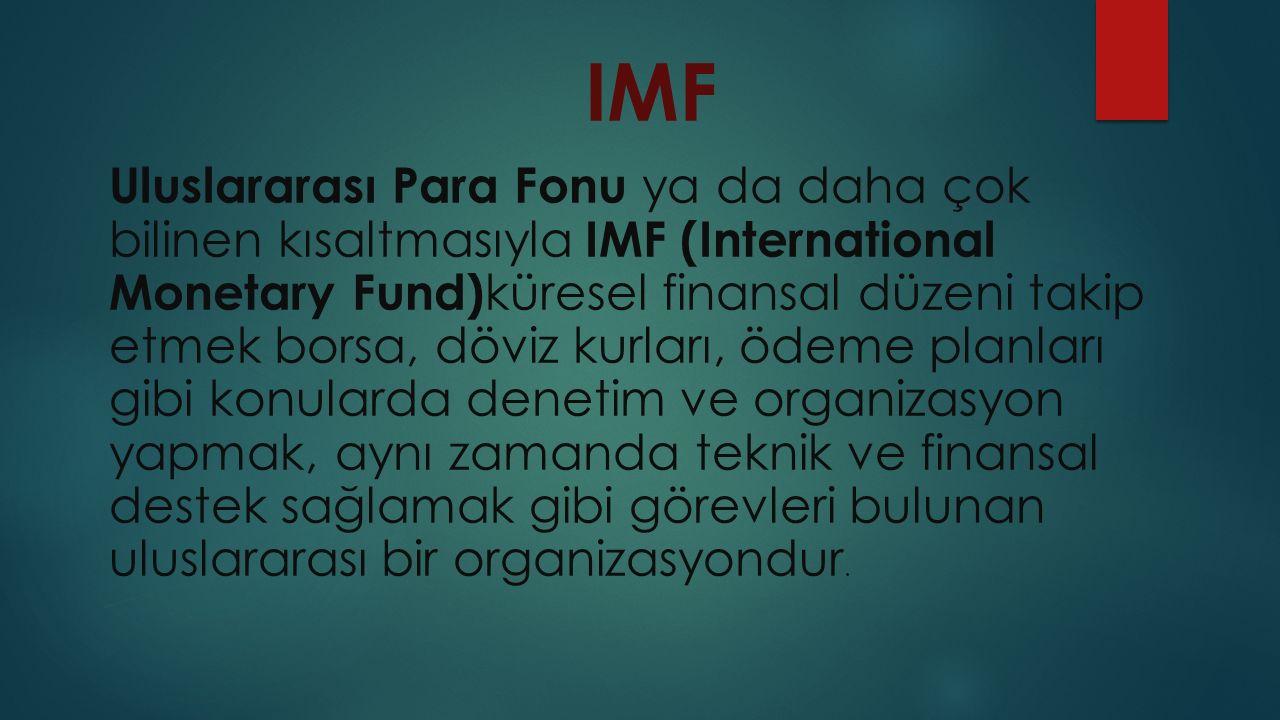IMF Merkez binası