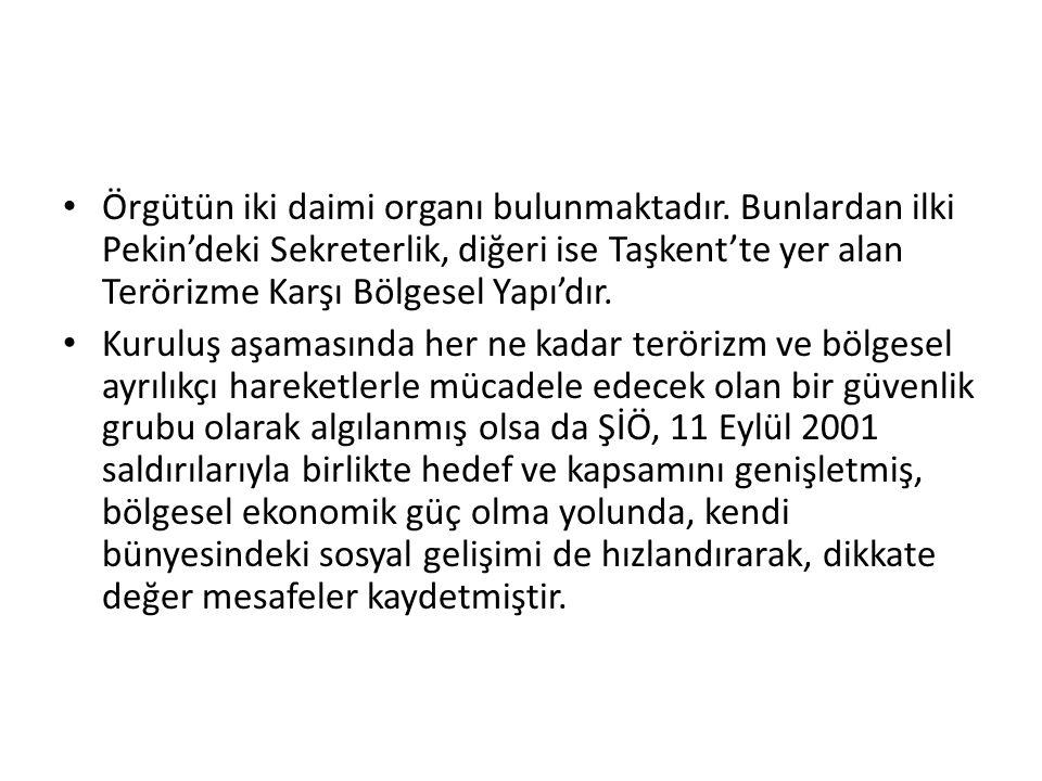 Örgüt, Türkiye açısından oldukça önemlidir.
