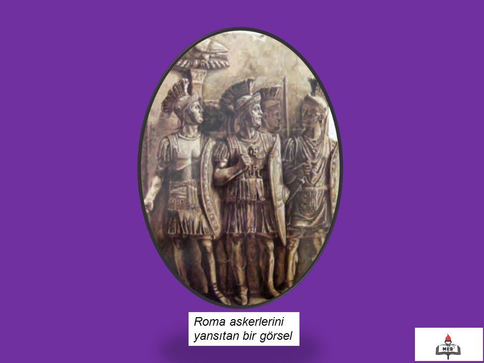 23 Roma askerlerini yansıtan bir görsel