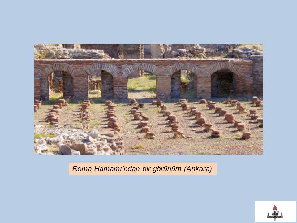 25 Roma Hamamı'ndan bir görünüm (Ankara)