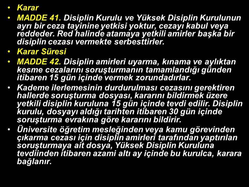 Karar MADDE 41.
