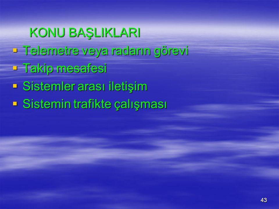 42 MESAFE KONTROLLÜ HIZ REGÜLATÖRLERİ