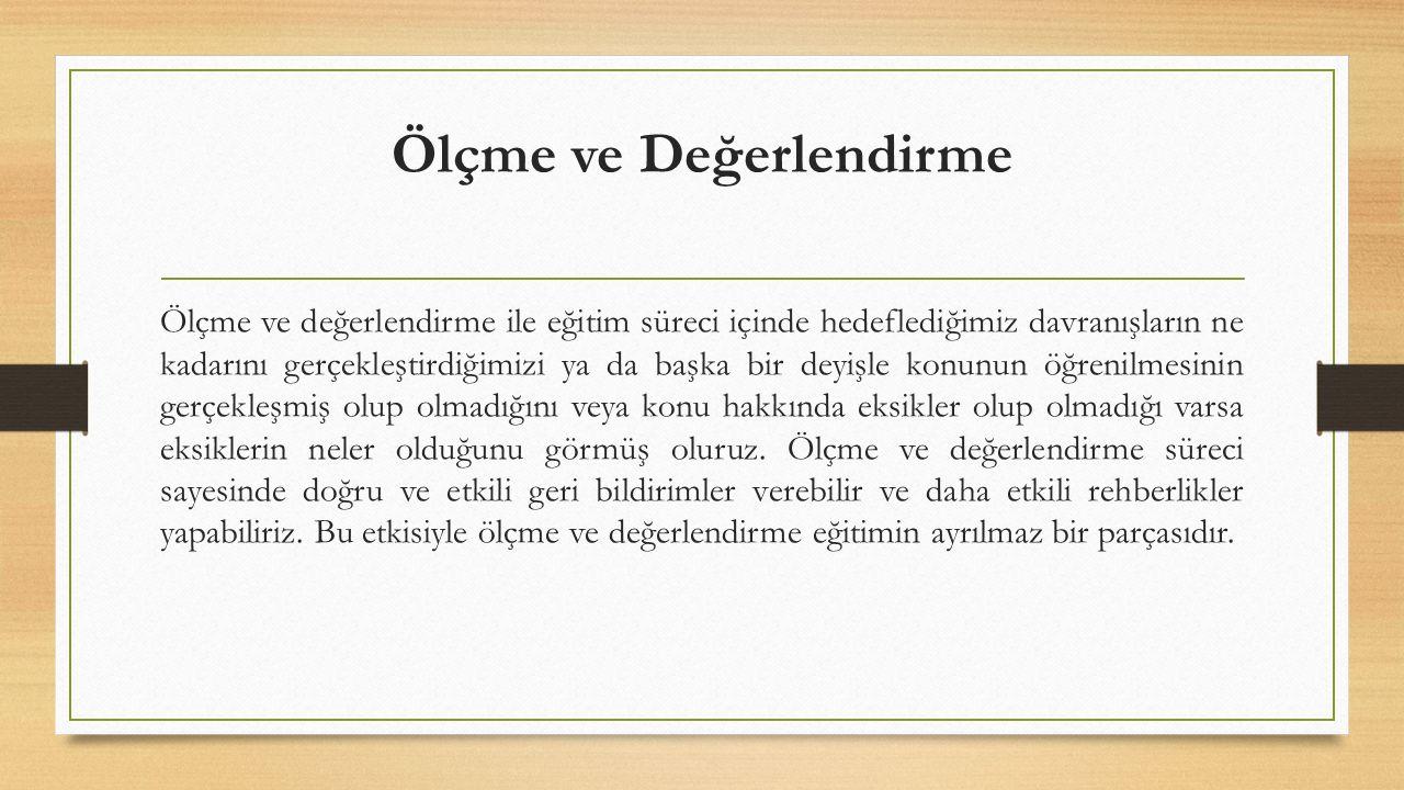 Kaynakça Kabakçı I.Ve Karakaya Z. (2003). Web de Öğrenme Ölçme ve Değer-lendirme.