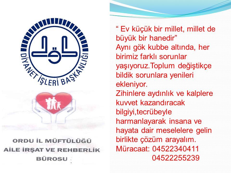 AİRB 24-25-26 OCAK 2012 ORDU İLİ YEREL EŞİTLİK EYLEM PLANI ÇALIŞTAYLARINA KATILDI.