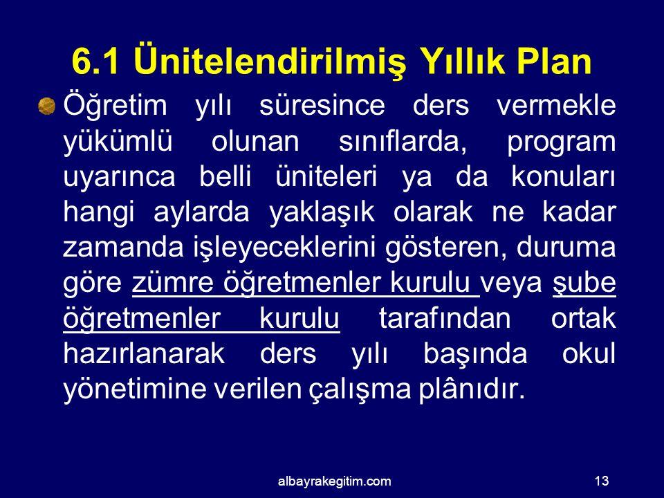 EĞİTİM ÖĞRETİMDE HAZIRLANAN PLANLAR Üniteleştirilmiş Yıllık Plan Günlük Ders Planı Gezi-Gözlem Planı Deney Planı Bireyselleştirilmiş Eğitim Planı ( BE