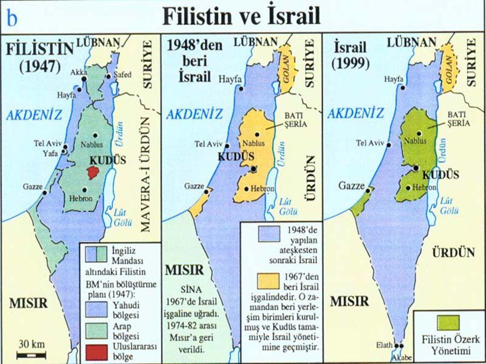 PAYLAŞILAMAYAN ORTADOĞU İsrail'in Kuruluşu 1948 Balfour Deklarasyonu Arap-İsrail Savaşı (1948) Arap-İsrail Savaşı (1967) Arap-İsrail Savaşı (1973) Eis