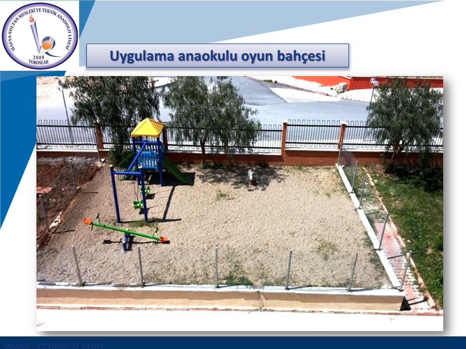 www.company.com Uygulama anaokulu oyun bahçesi