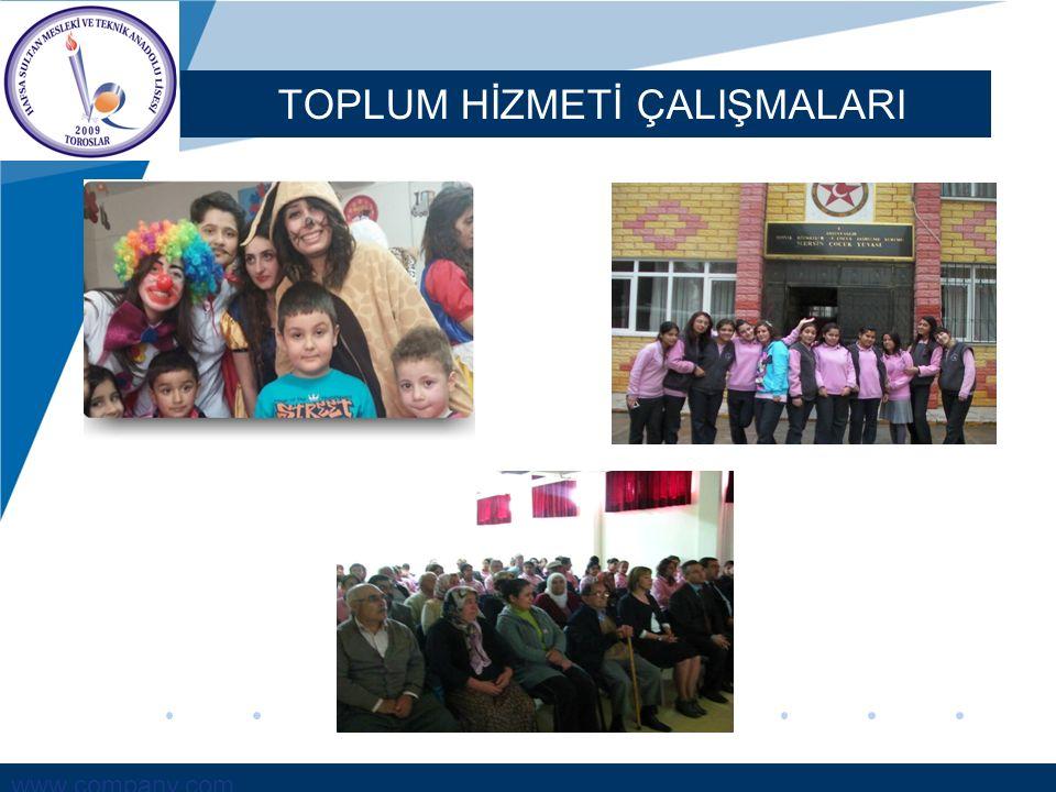 www.company.com TOPLUM HİZMETİ ÇALIŞMALARI