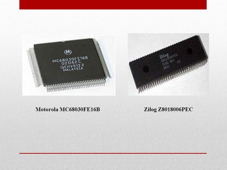Motorola MC68030FE16BZilog Z8018006PEC