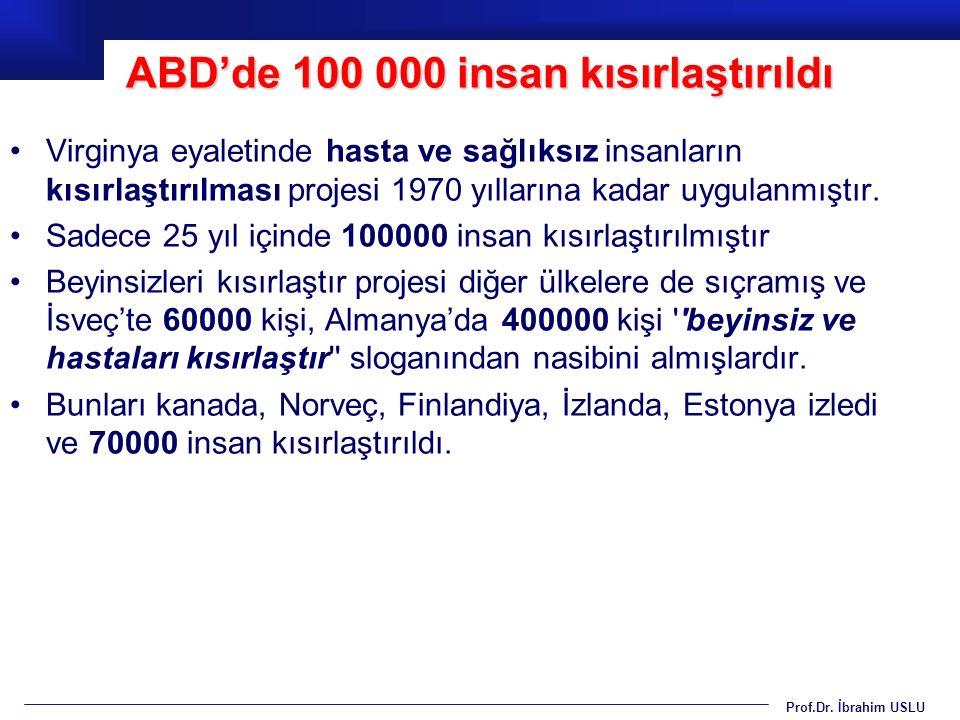Prof.Dr. İbrahim USLU