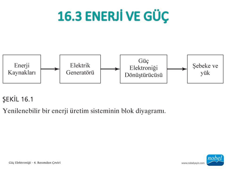 16.8.1 Hidrojen Üretimi ve Yakıt Hücreleri