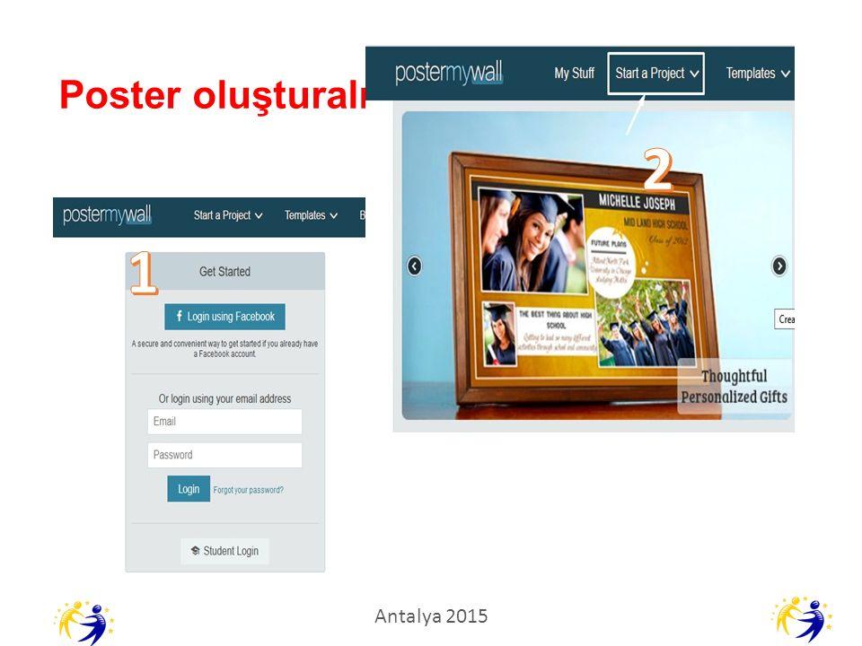 Poster oluşturalım Antalya 2015