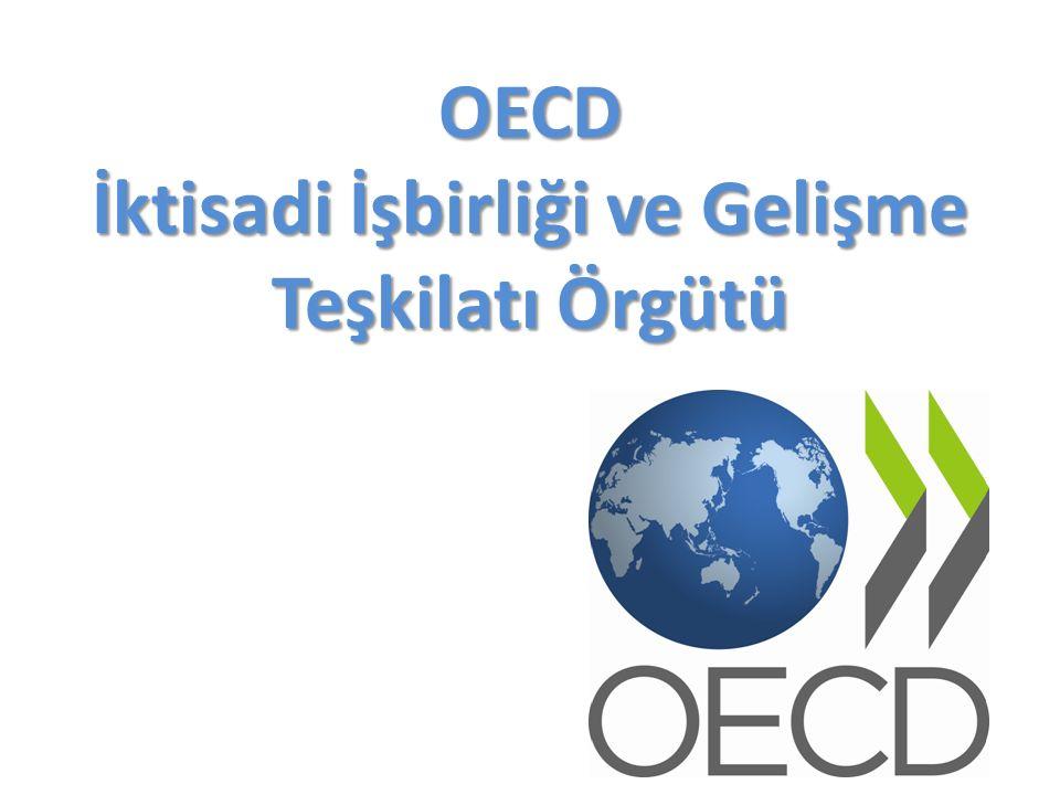 OECD İktisadi İşbirliği ve Gelişme Teşkilatı Örgütü