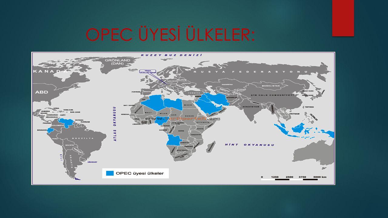 OPEC ÜYESİ ÜLKELER: