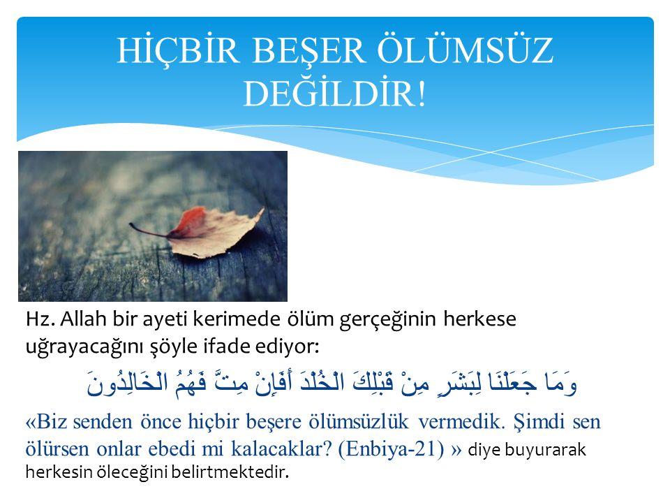 O gün Allâh Rasûlü (sav), Ehl-i Beyt'ine şöyle seslendi: Ey Rasûlullâh'ın kızı Fâtıma.